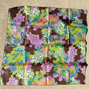 3/$15 Bright Vintage scarf